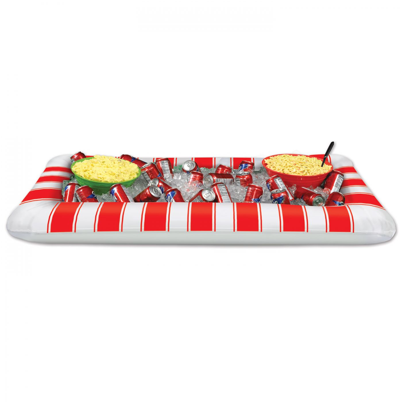 Inflatable Red&White Stripes Buffet Clr (6) image