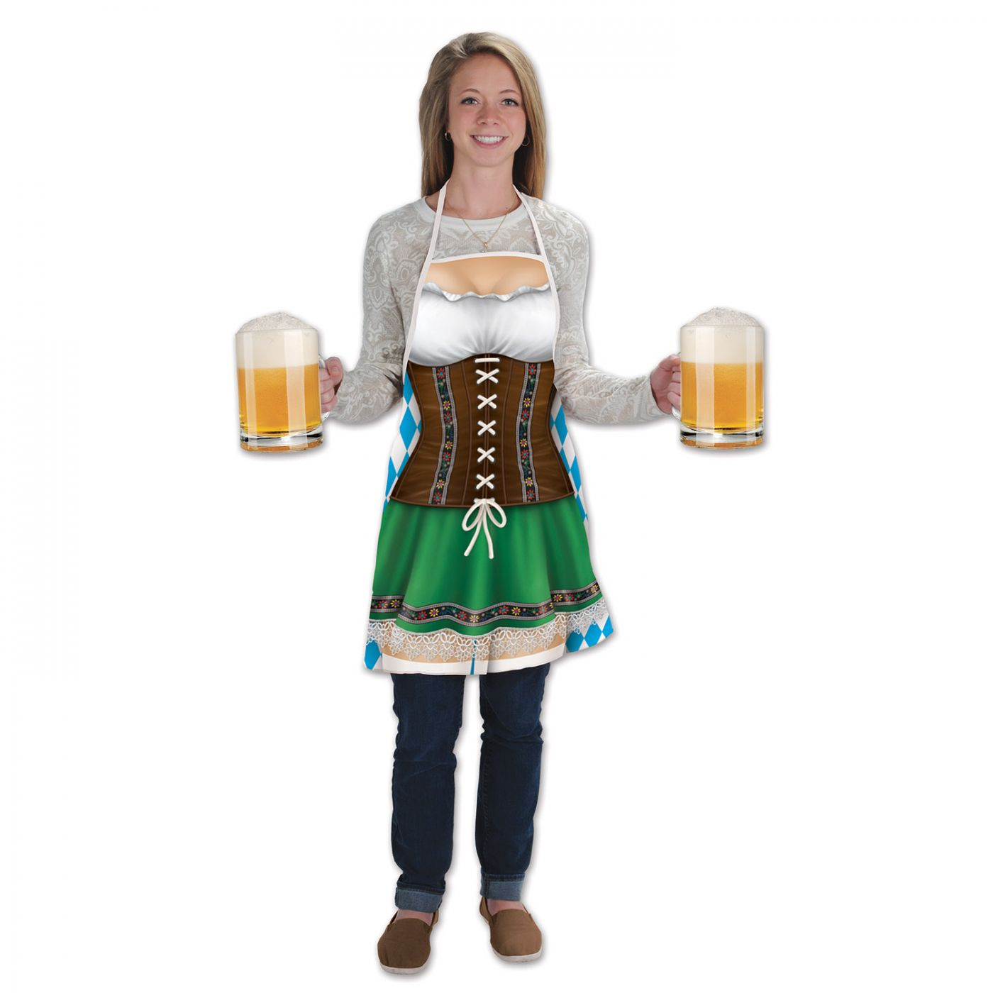 Fraulein Fabric Novelty Apron (6) image