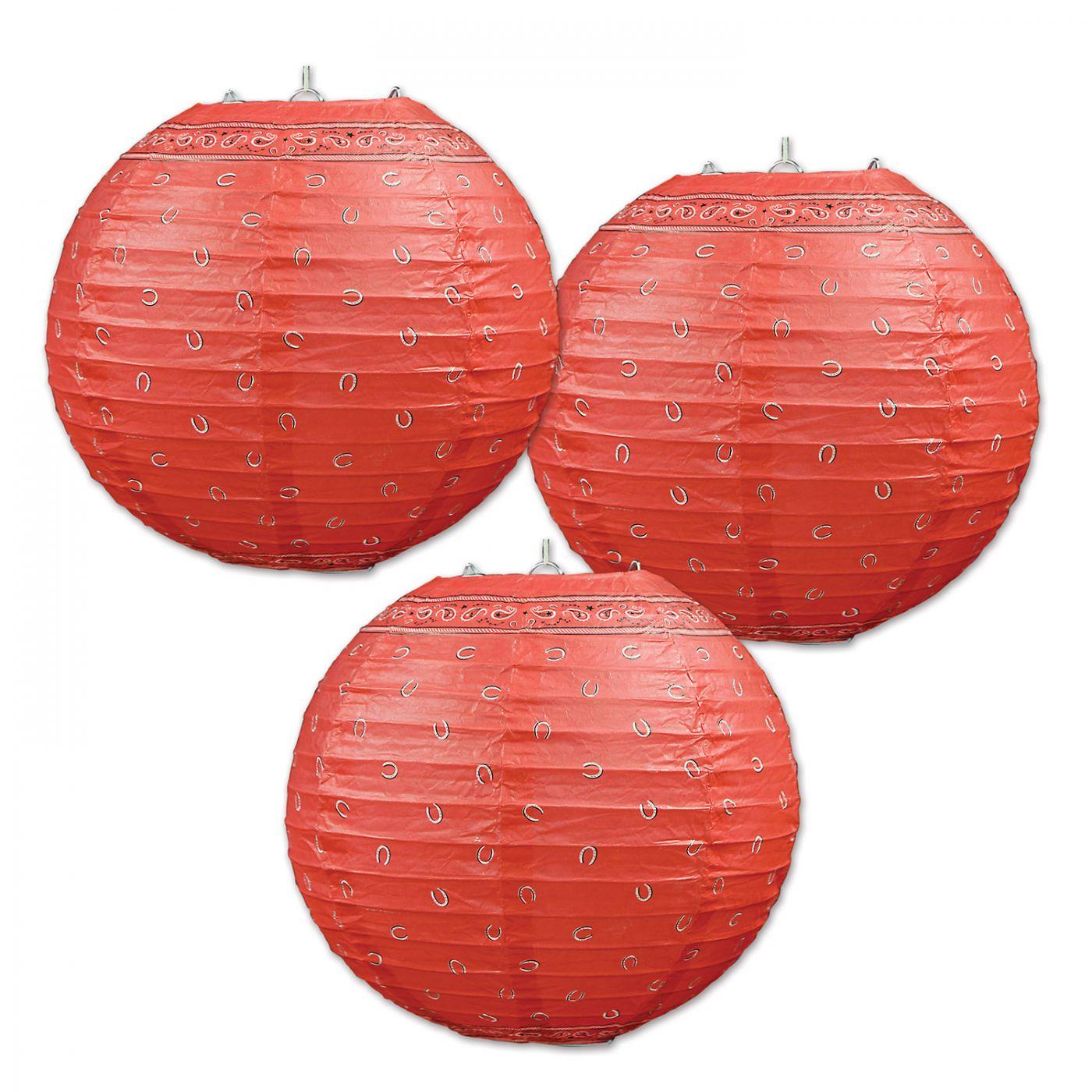 Image of Bandana Paper Lanterns (6)