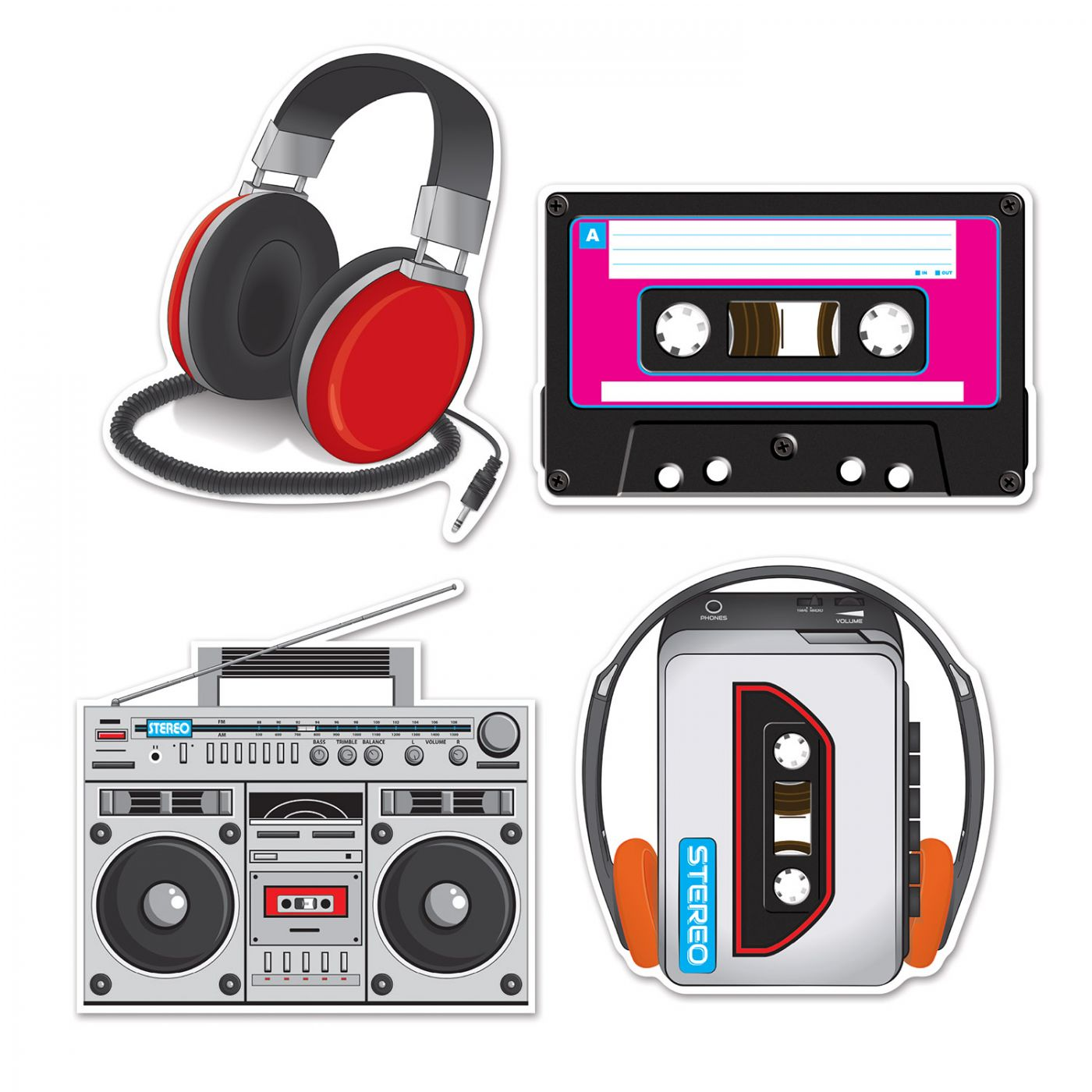 Cassette Player Cutouts image