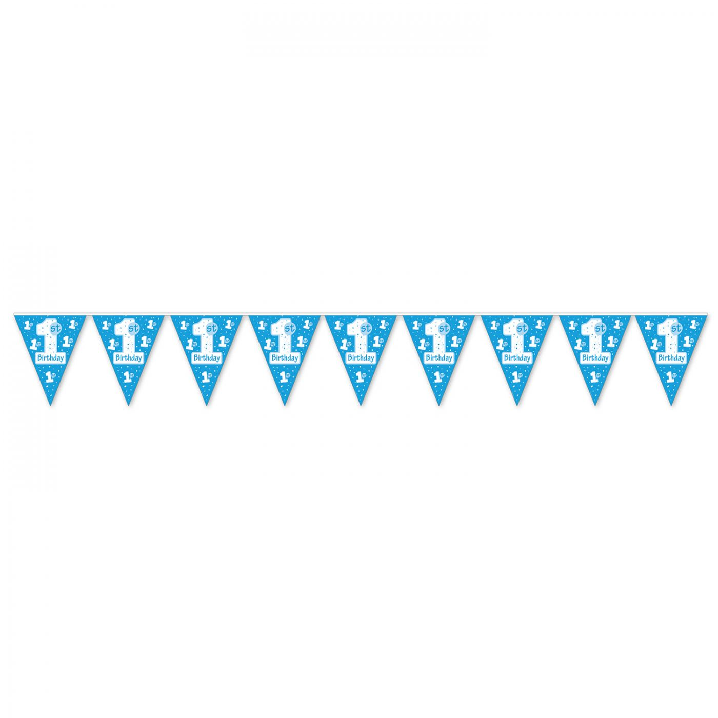 Image of 1st Birthday Pennant Banner