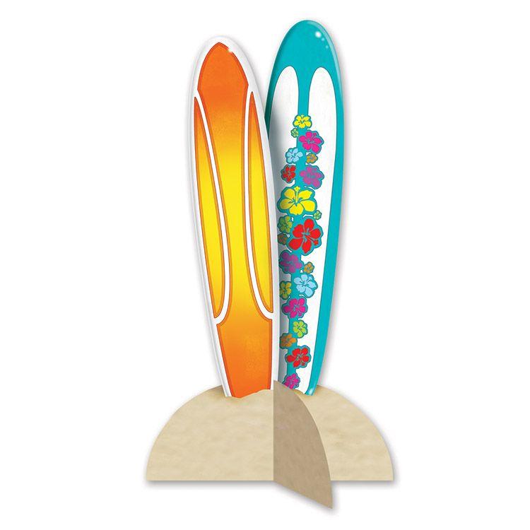 Image of 3-D Surfboard Centerpiece