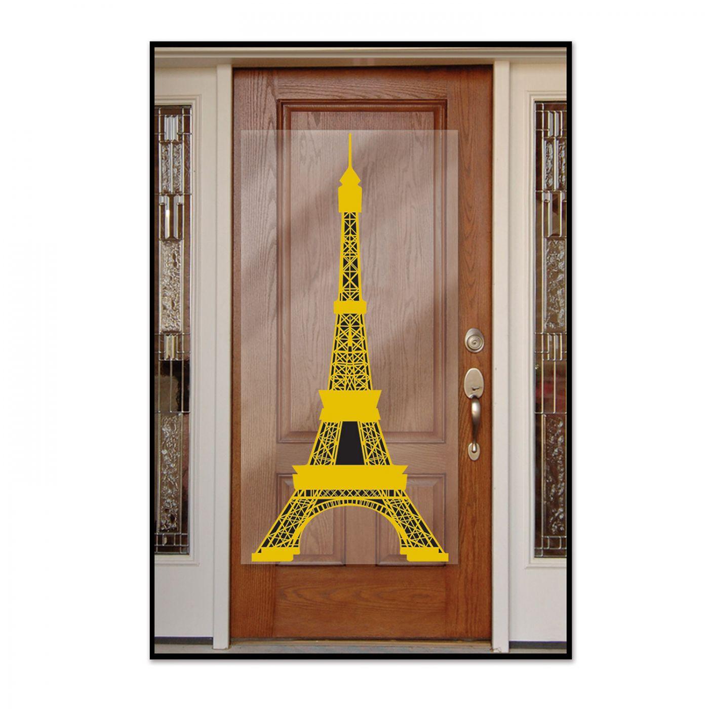 Eiffel Tower Door Cover image