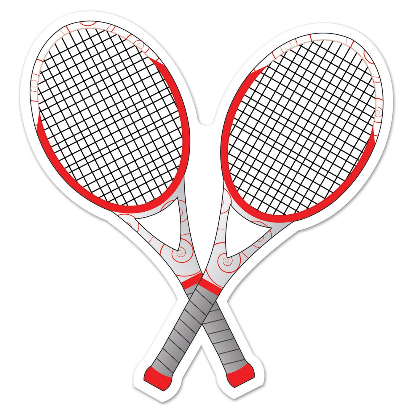 Image of Tennis Racquets Cutout