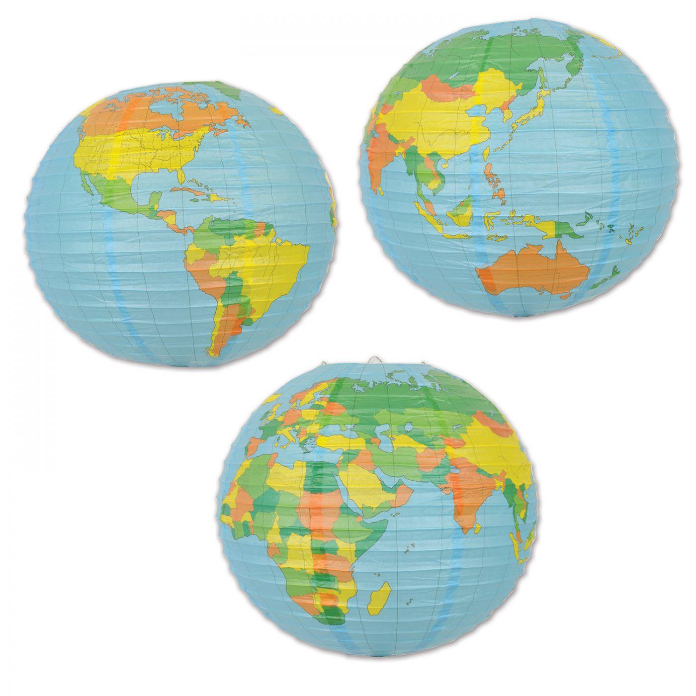 Globe Paper Lantern image