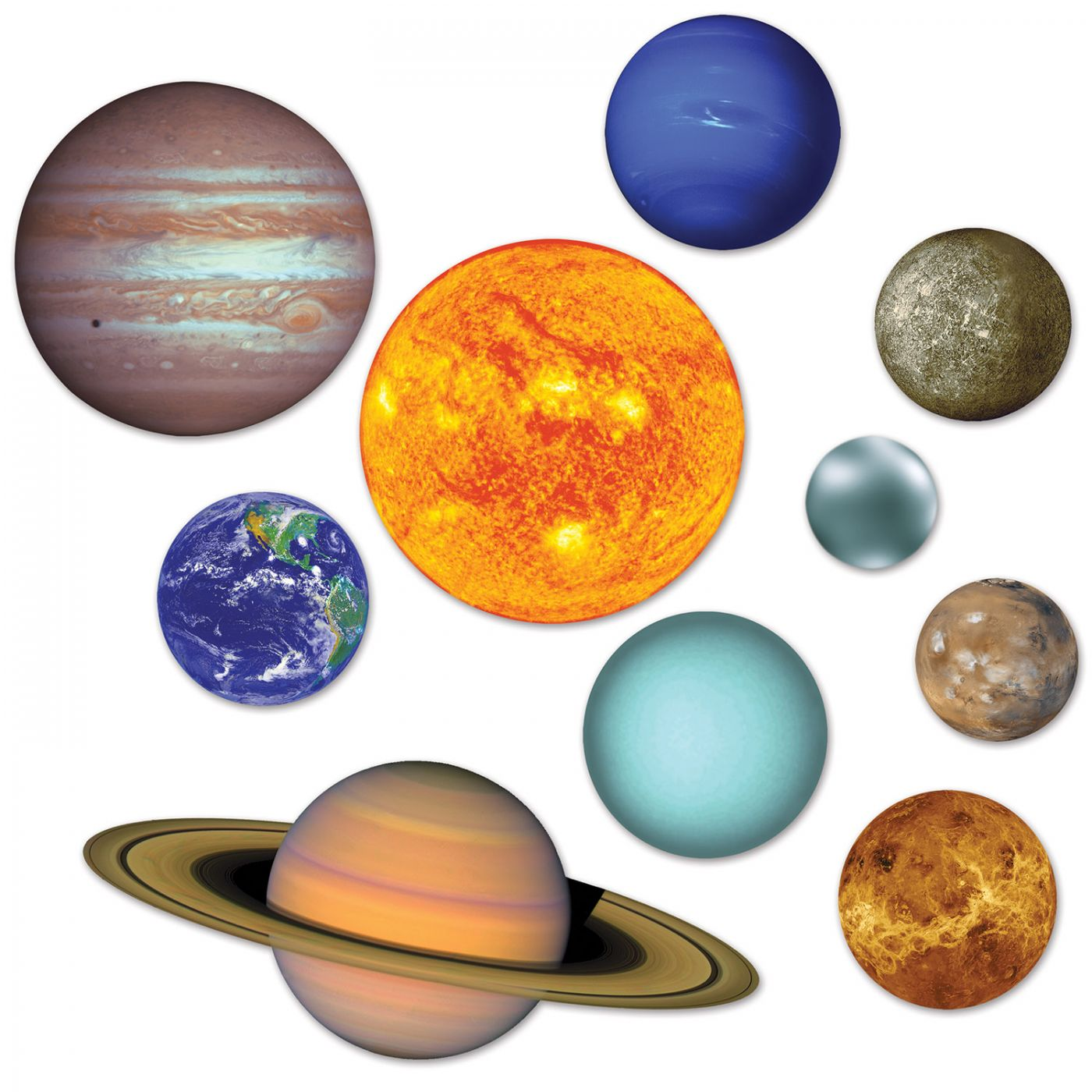 Solar System Cutouts image