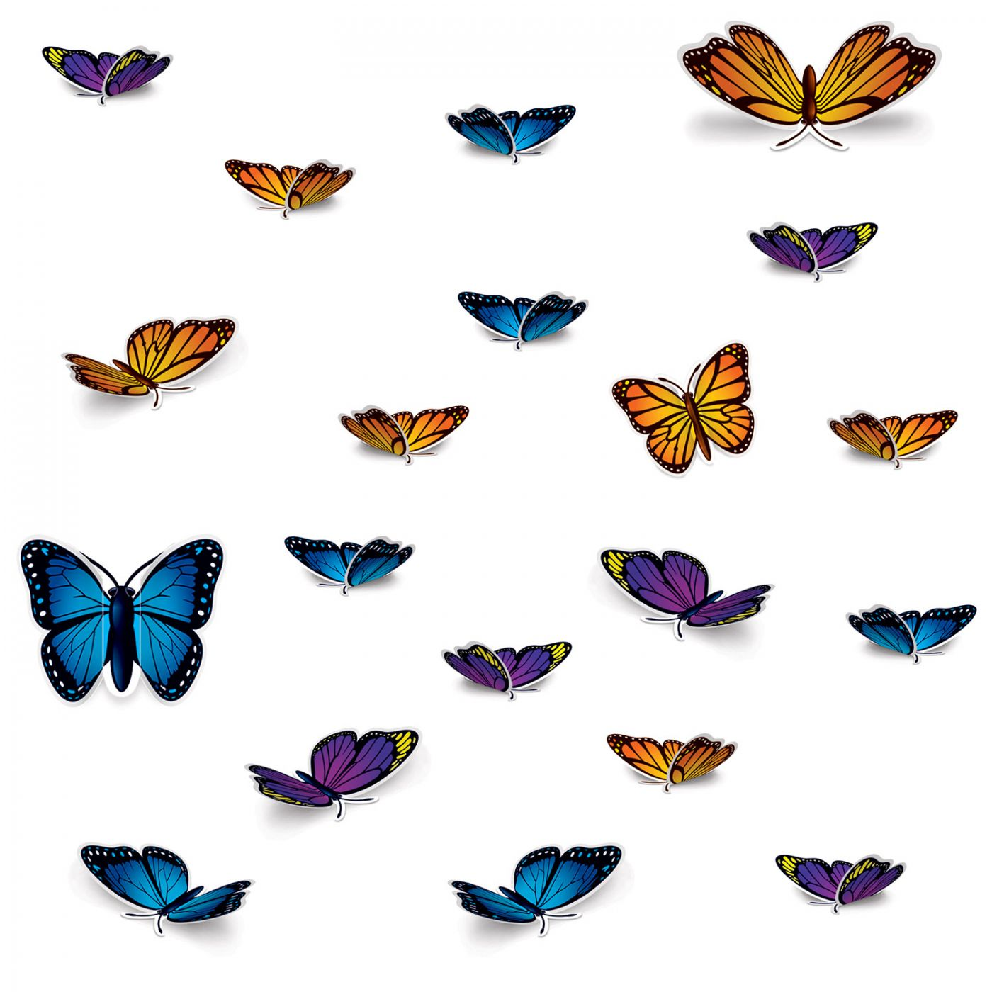 Image of Butterfly Cutouts