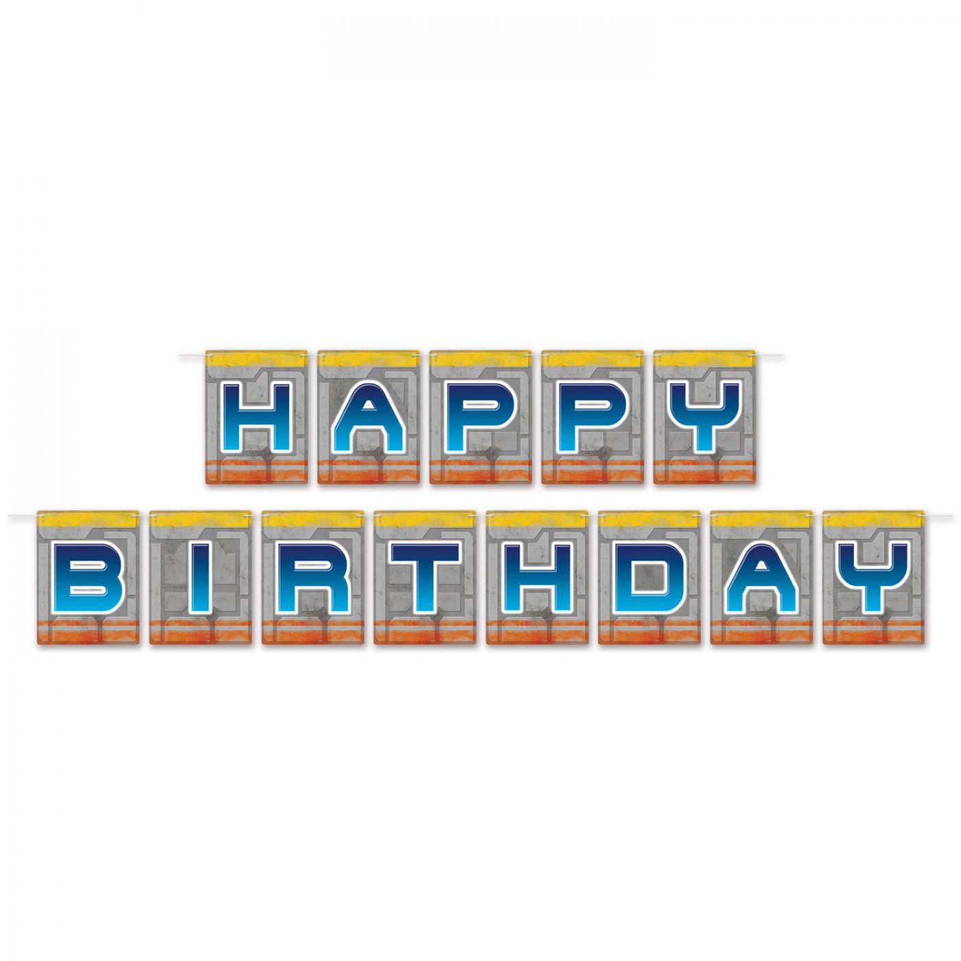 Image of Birthday Space Streamer