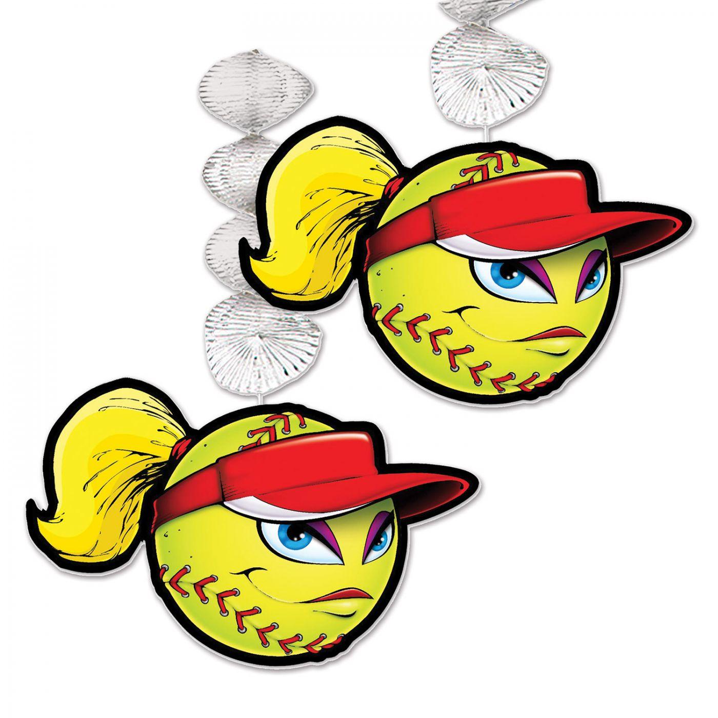 Softball Danglers image