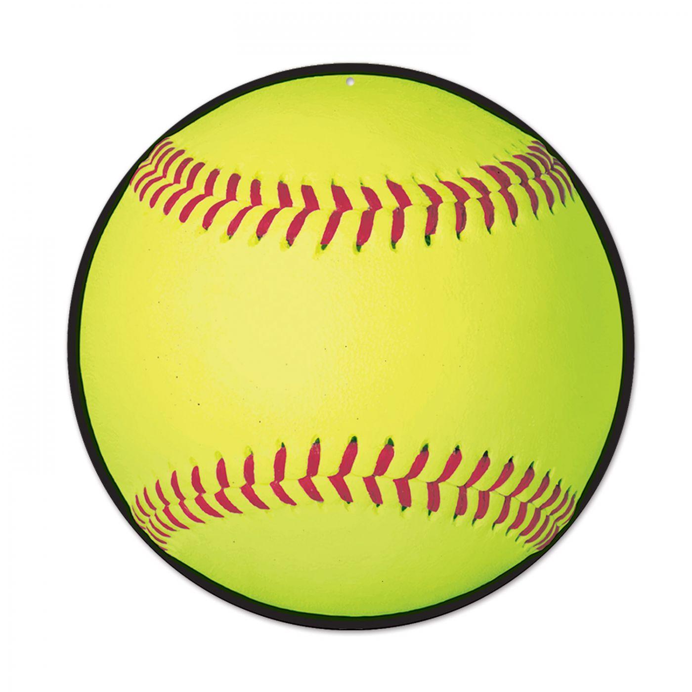 Softball Cutout image
