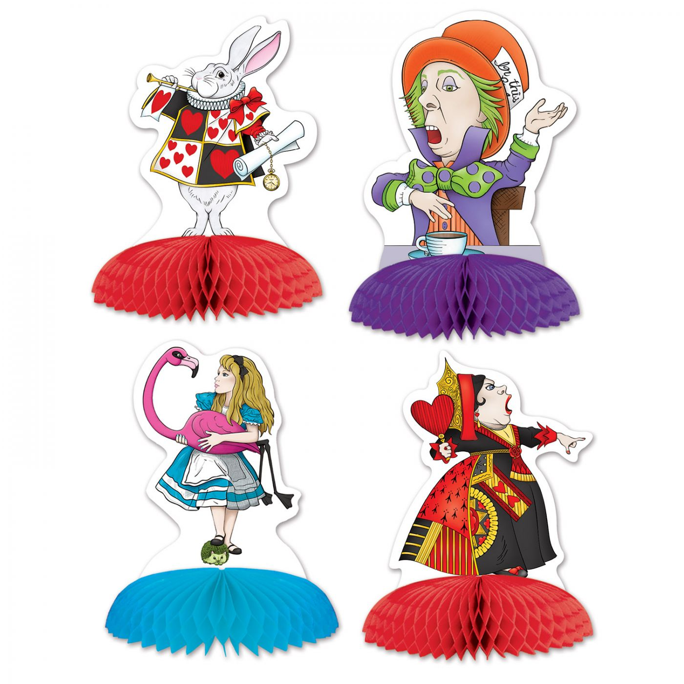 Alice In Wonderland Mini Centerpieces image