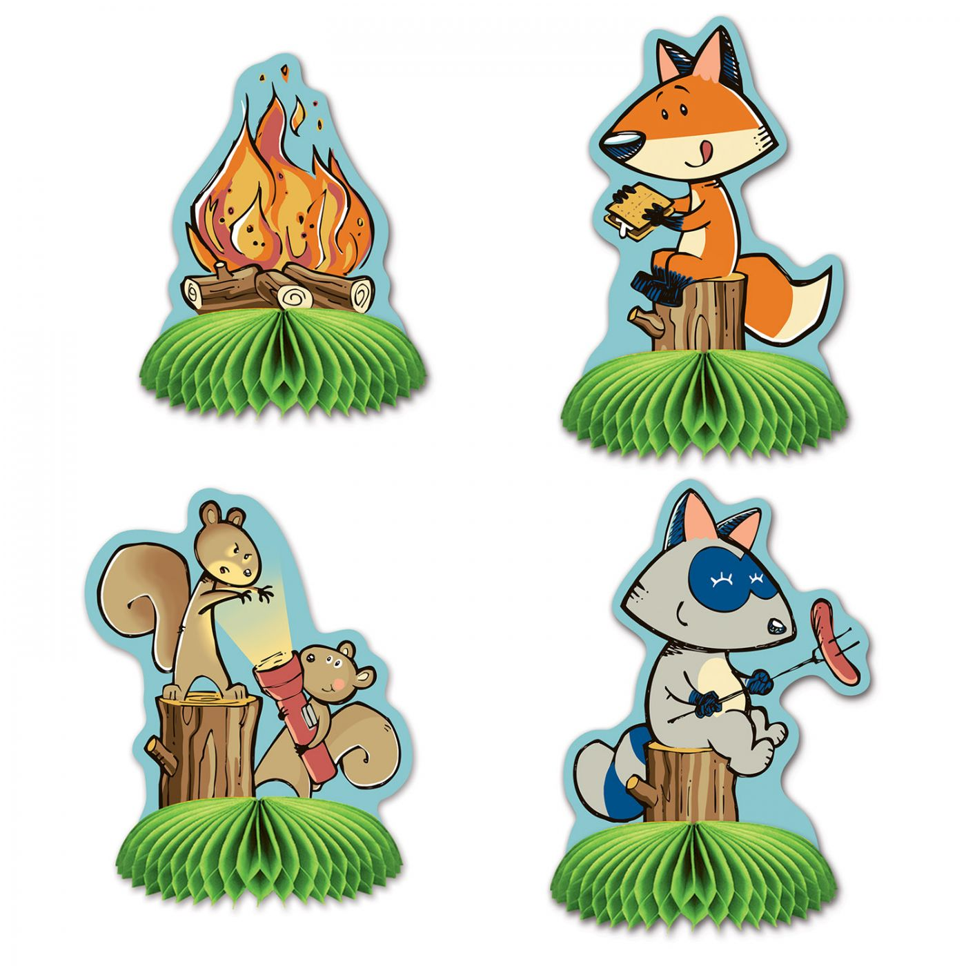 Woodland Friends Mini Centerpieces image