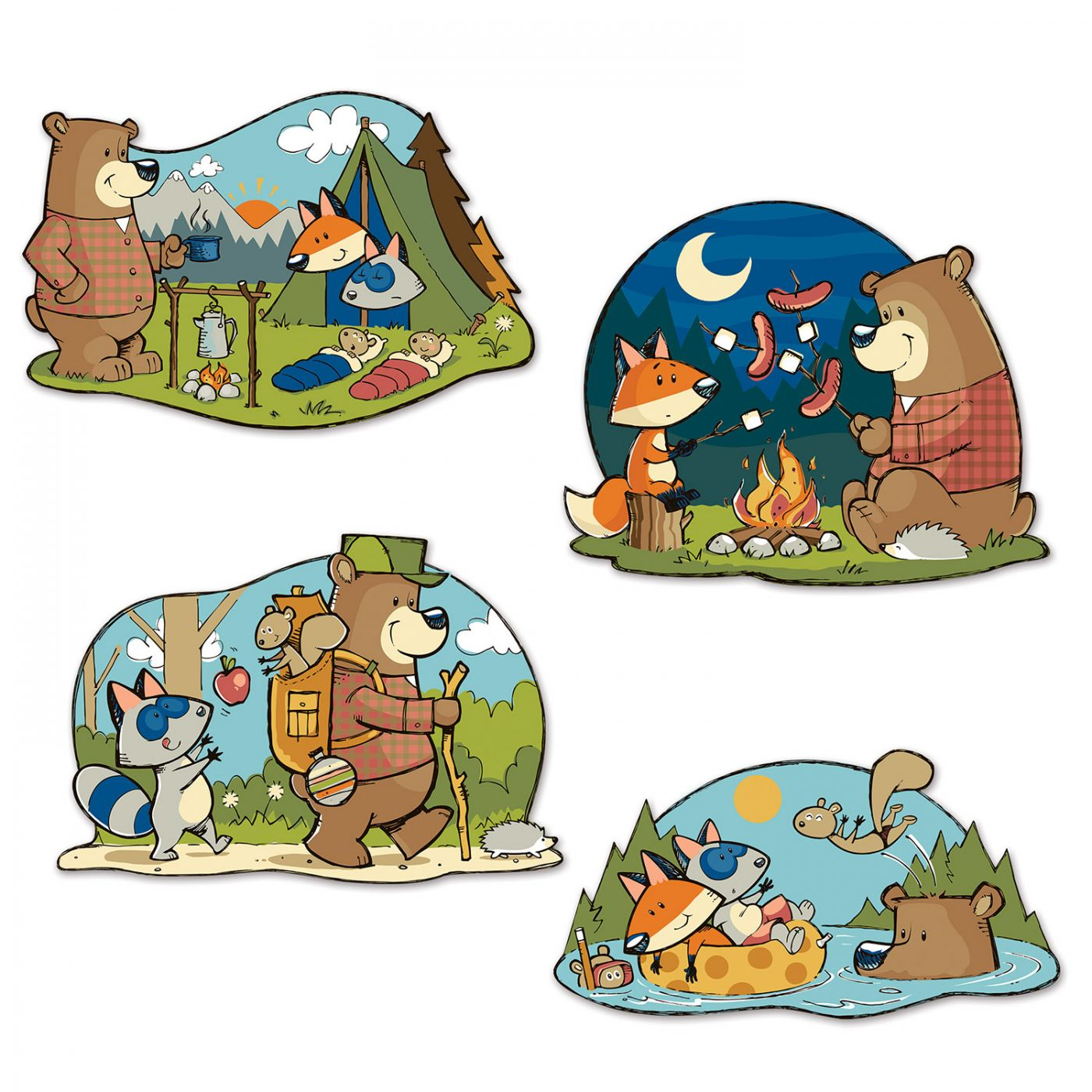 Woodland Friends Cutouts image