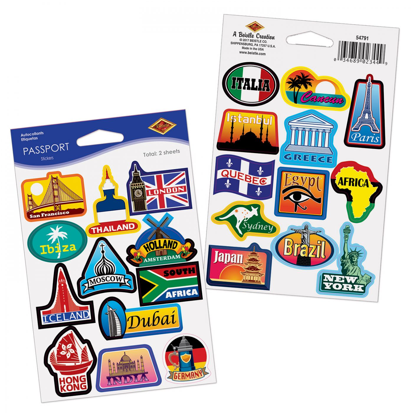 Passport Stickers image
