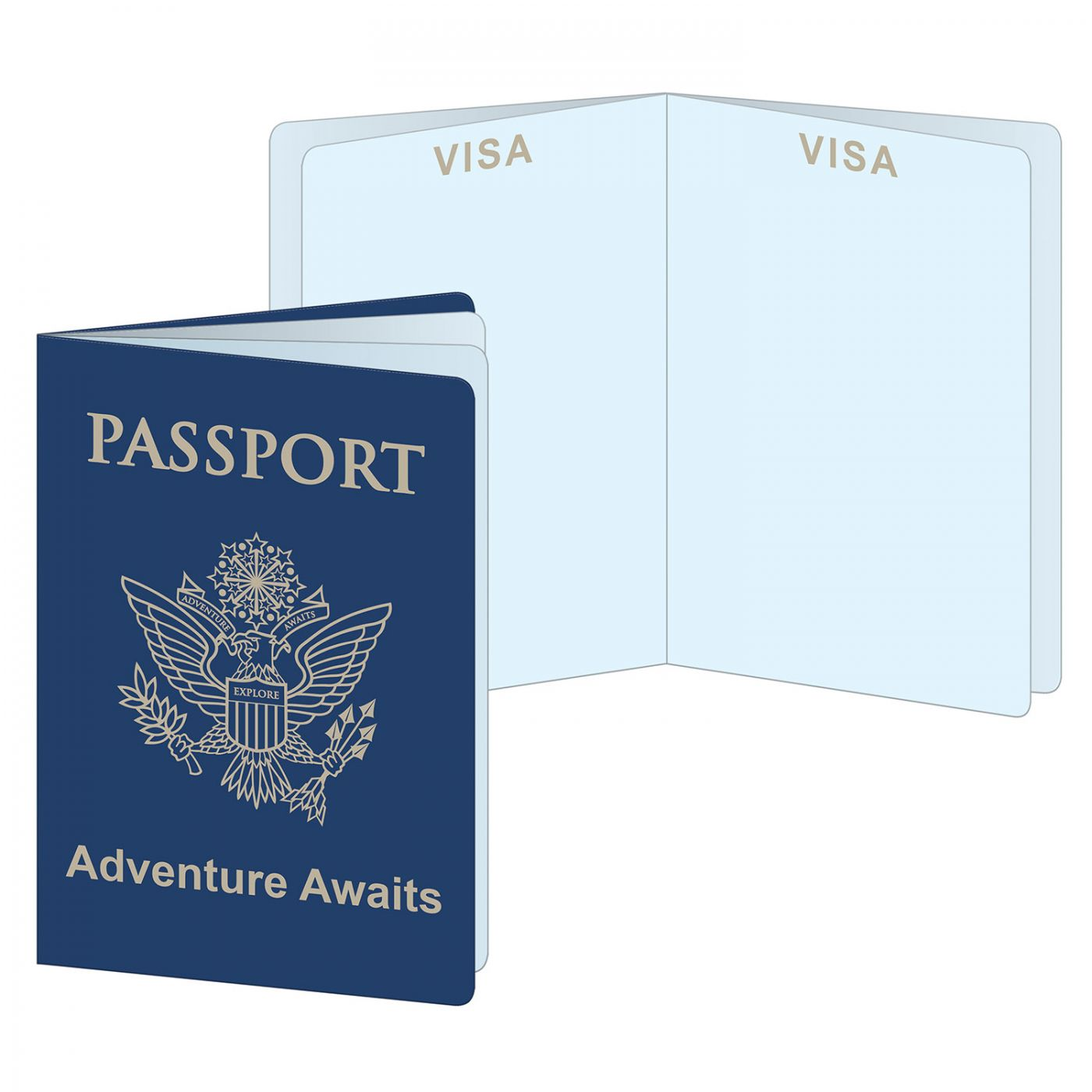 Around The World Passports image