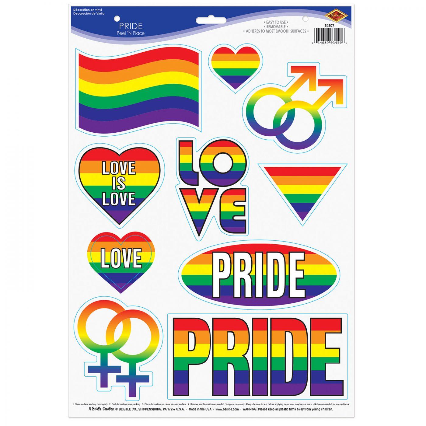 Pride Peel 'N Place image