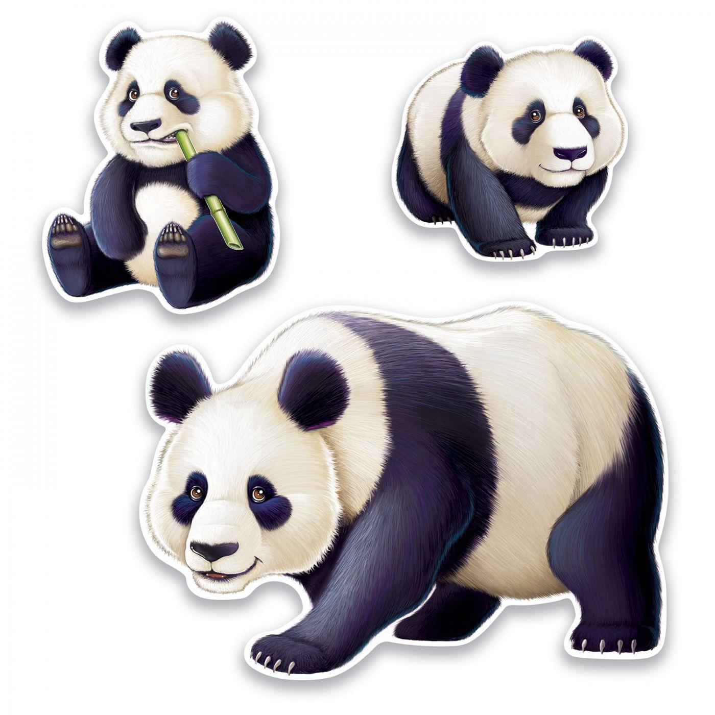 Panda Cutouts image