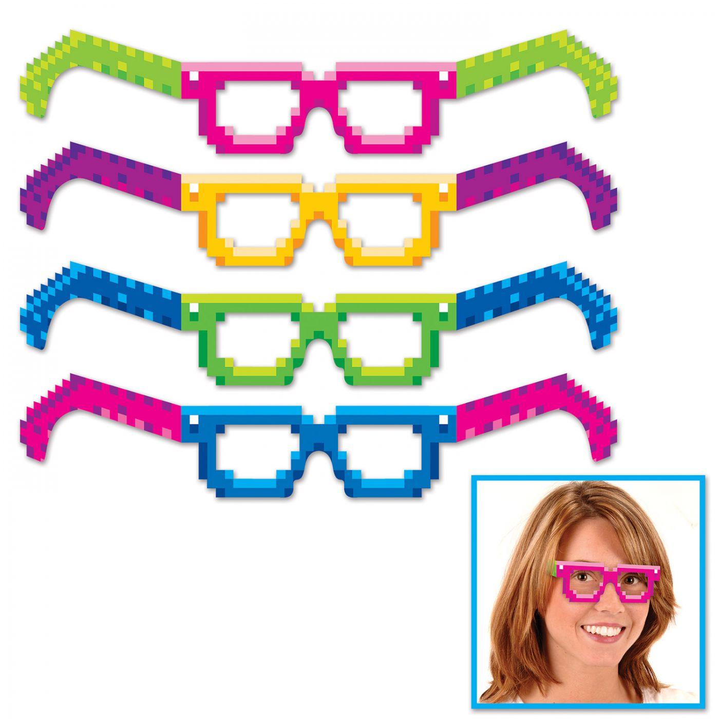 8-Bit Eyeglasses image