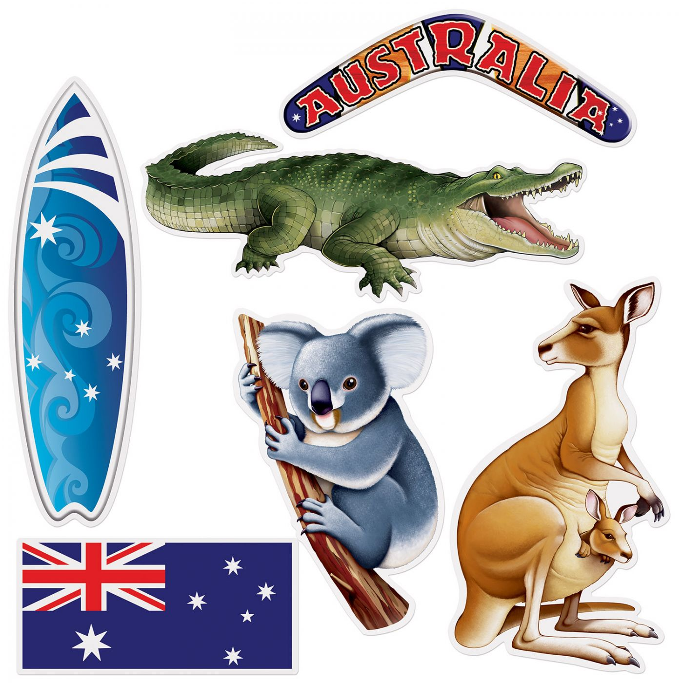 Image of Australian Cutouts