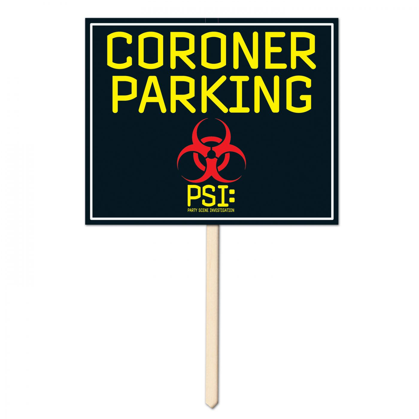 Coroner Parking Yard Sign (6) image