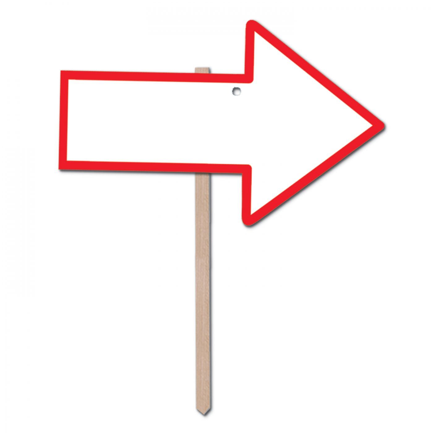 Blank  Arrow Yard Sign (6) image
