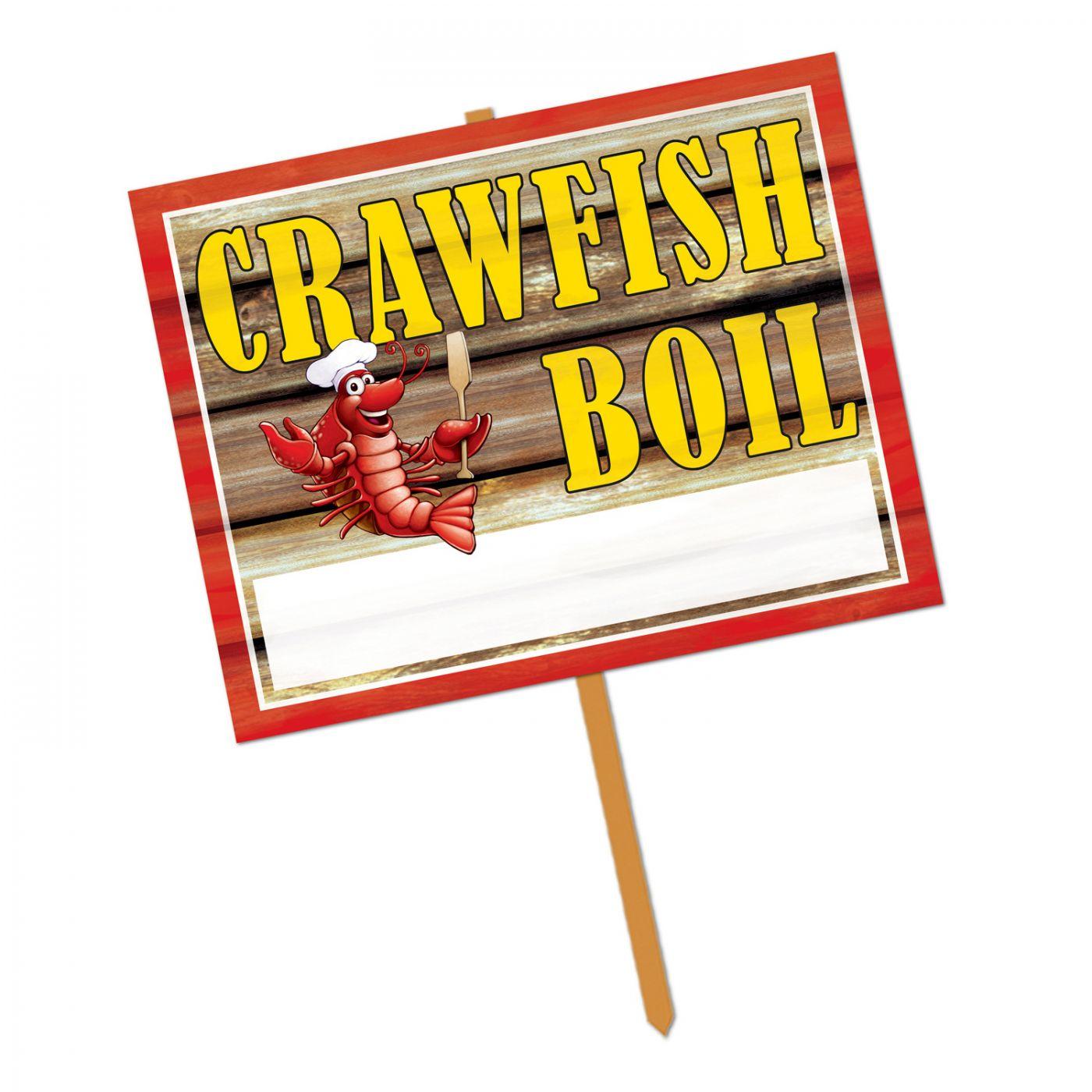 Crawfish Boil Yard Sign (6) image