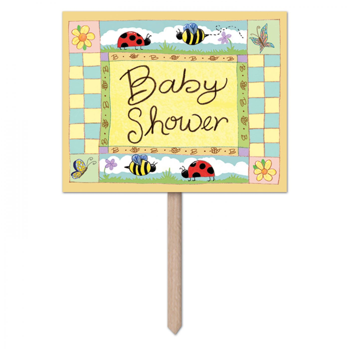 Image of B Is For Baby Yard Sign (6)