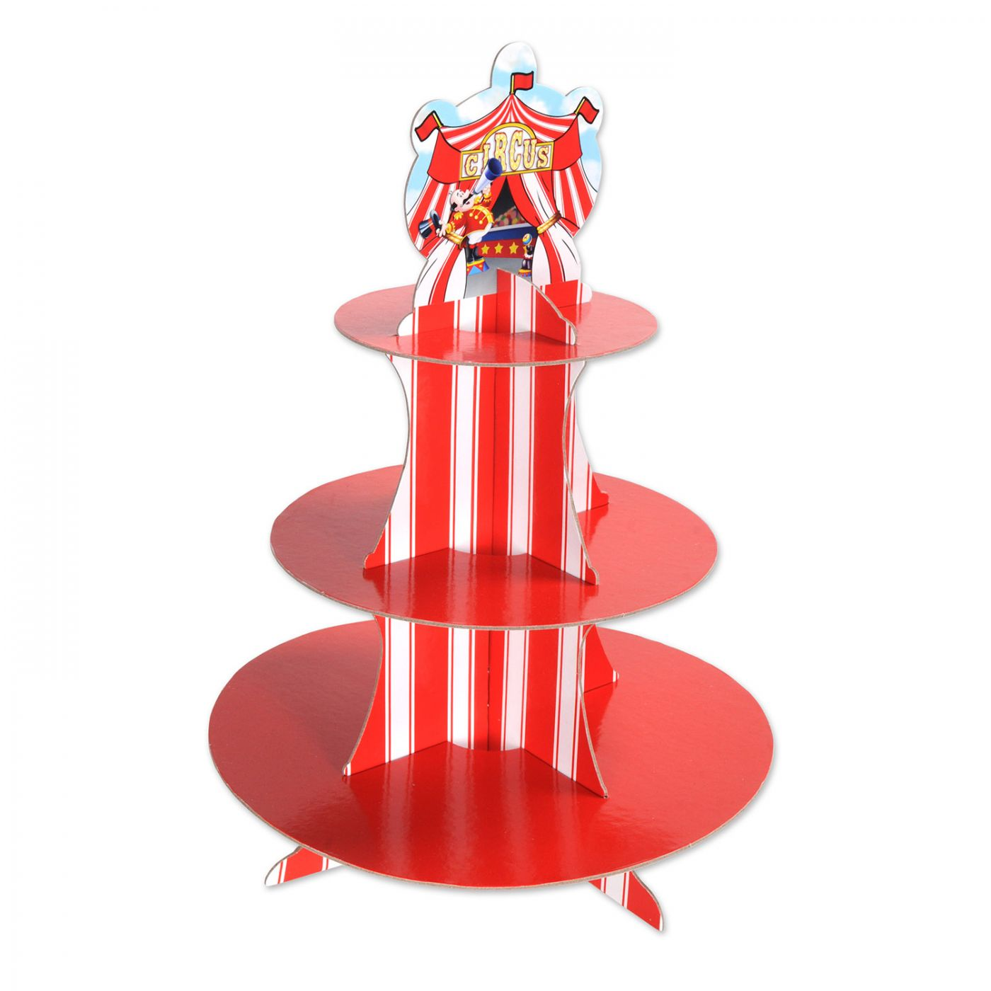 Circus Tent Cupcake Stand image