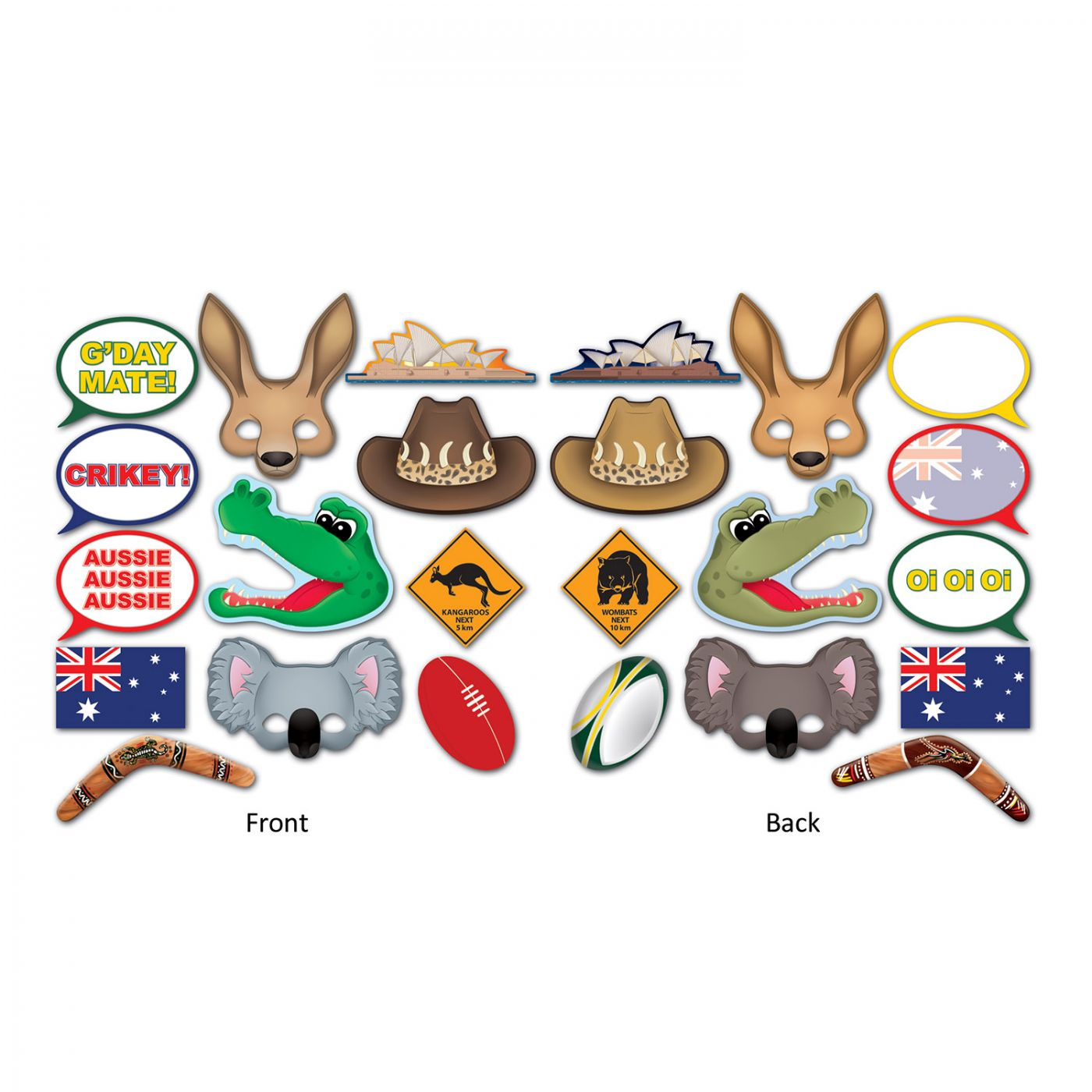 Image of Australian Photo Fun Signs