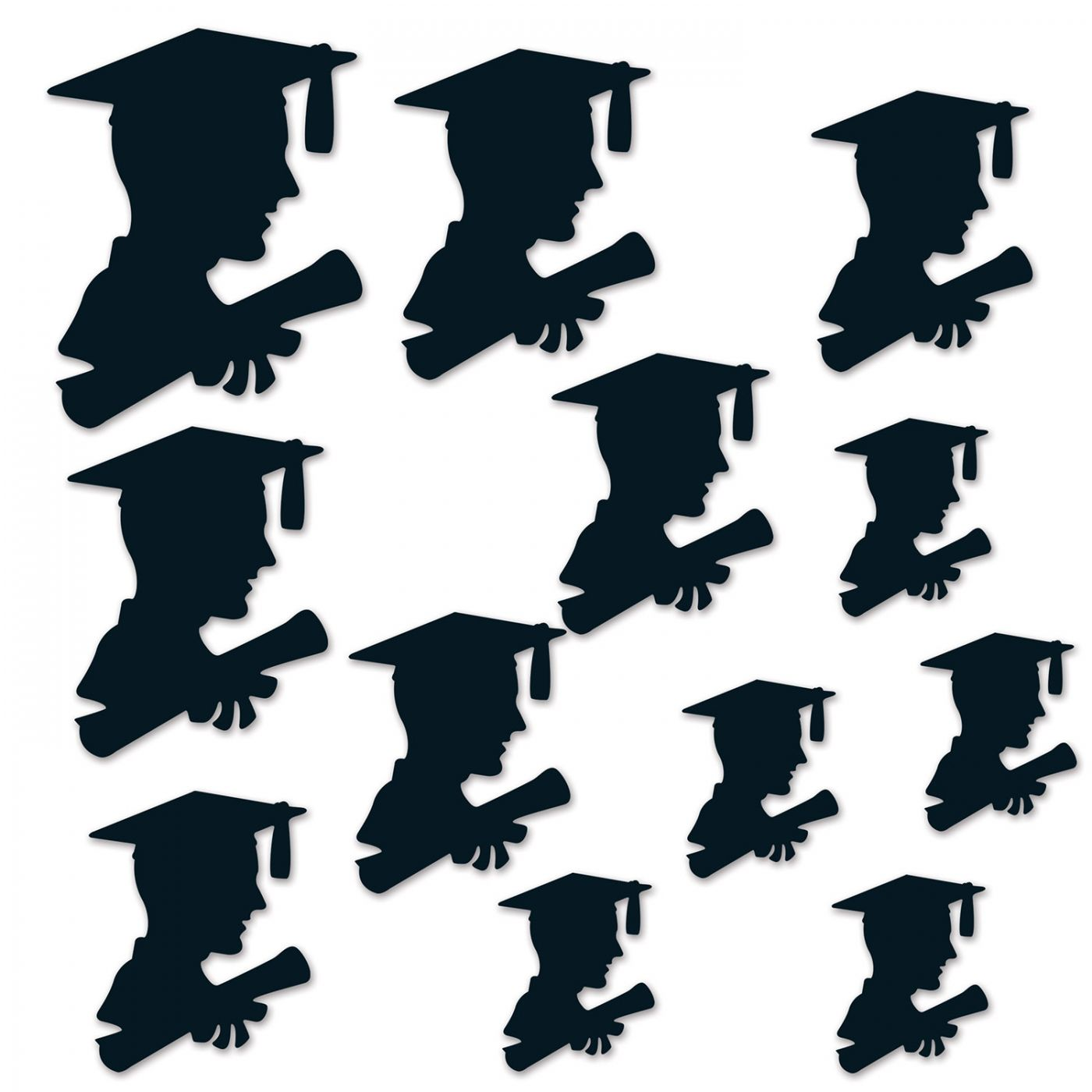 Image of Boy Graduate Silhouettes