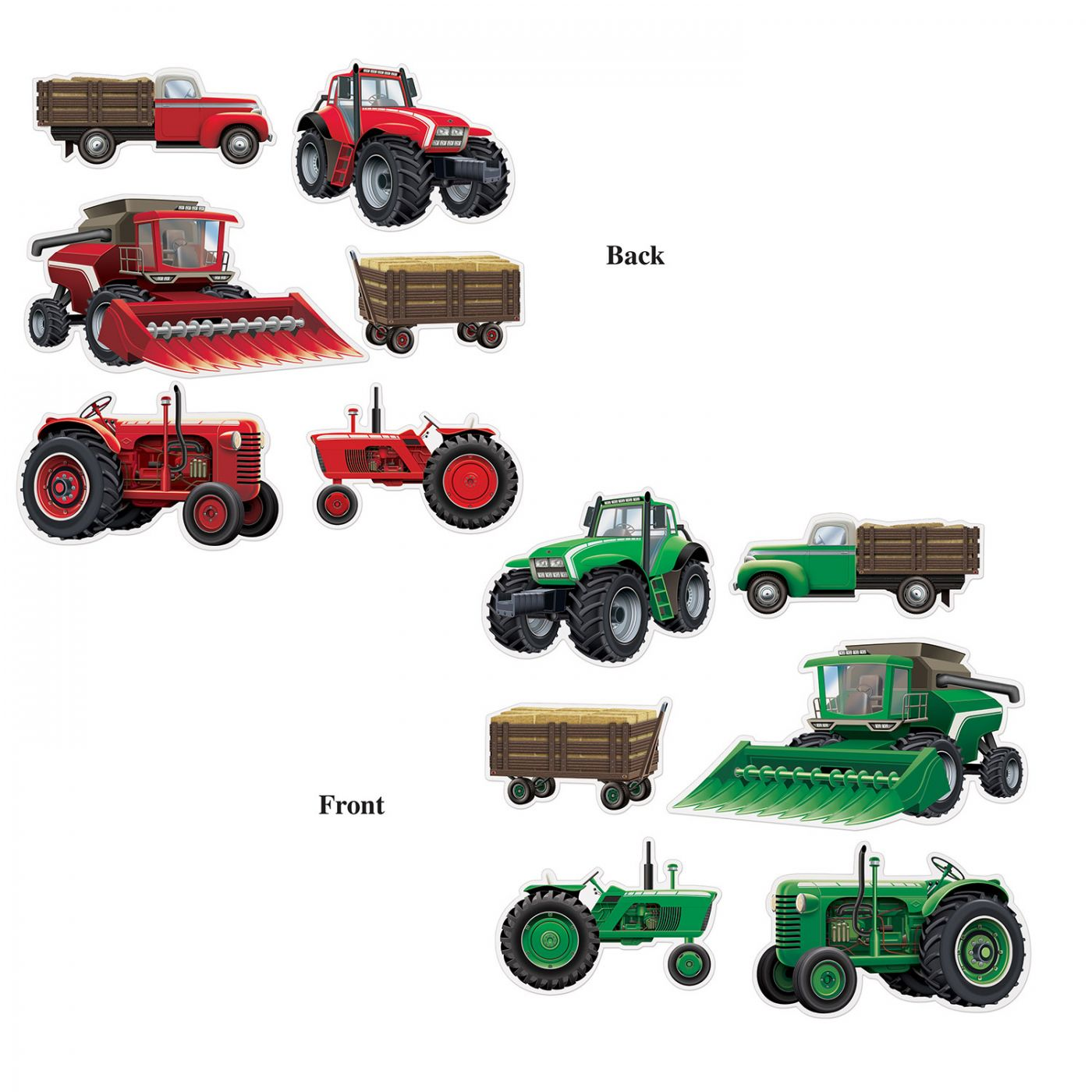 Farm Equipment Cutouts image
