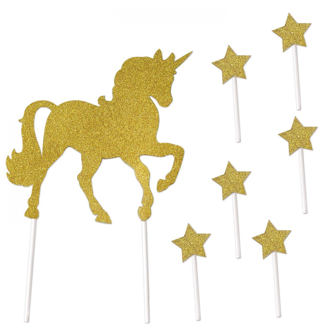 Unicorn Cake Topper image