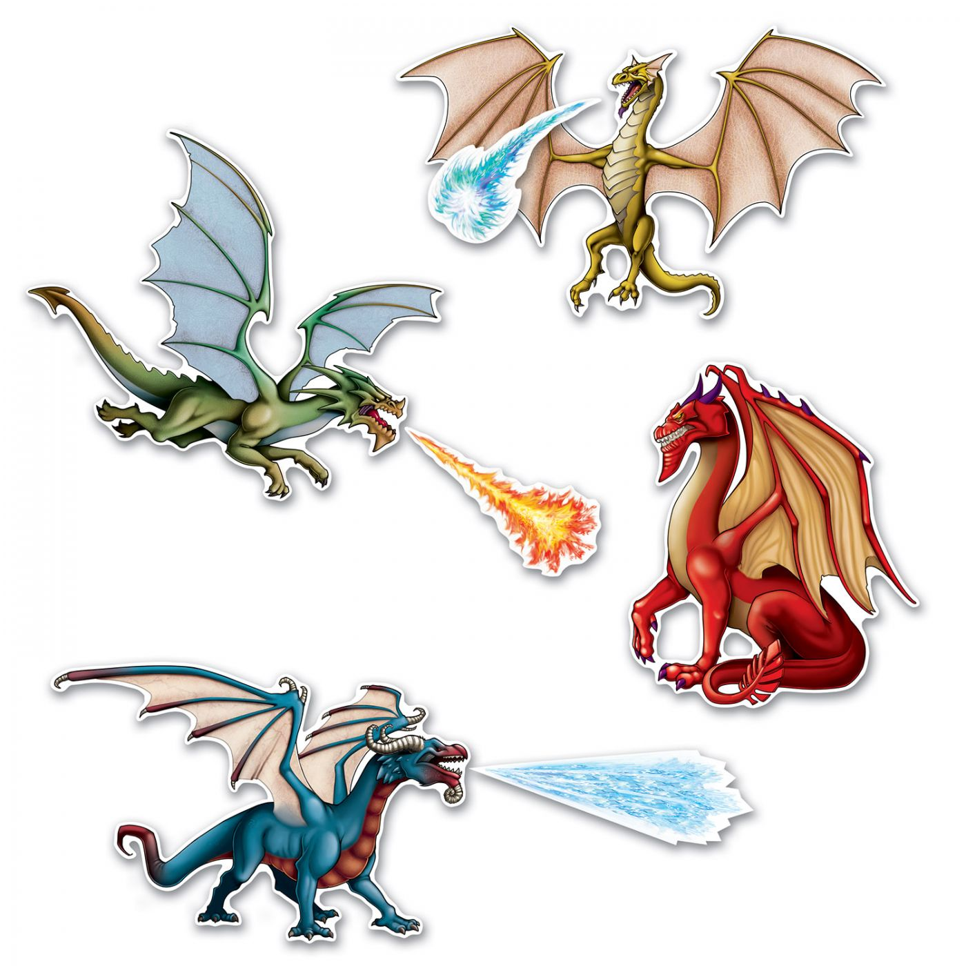 Dragon Cutouts image