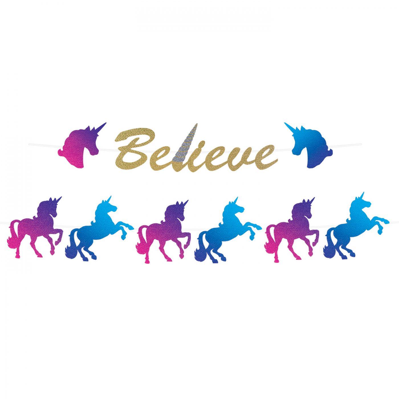 Unicorn Streamer Set image