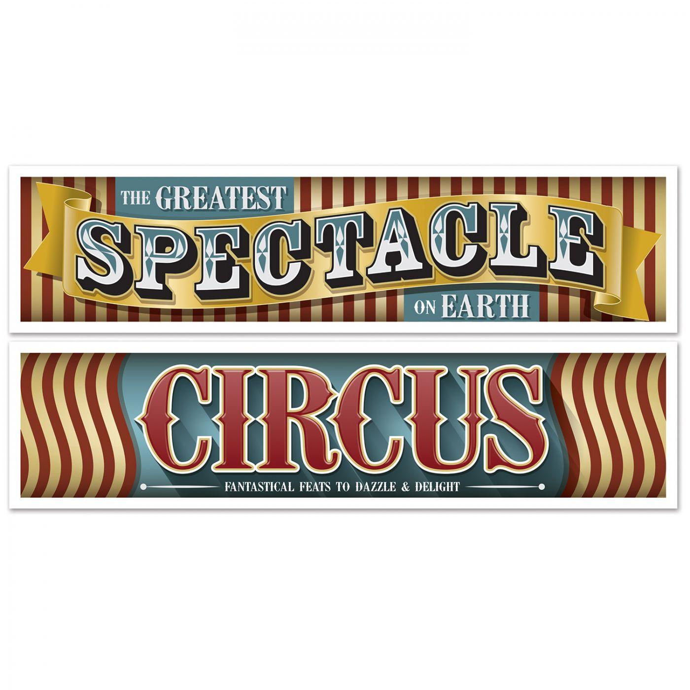 Vintage Circus Banners image