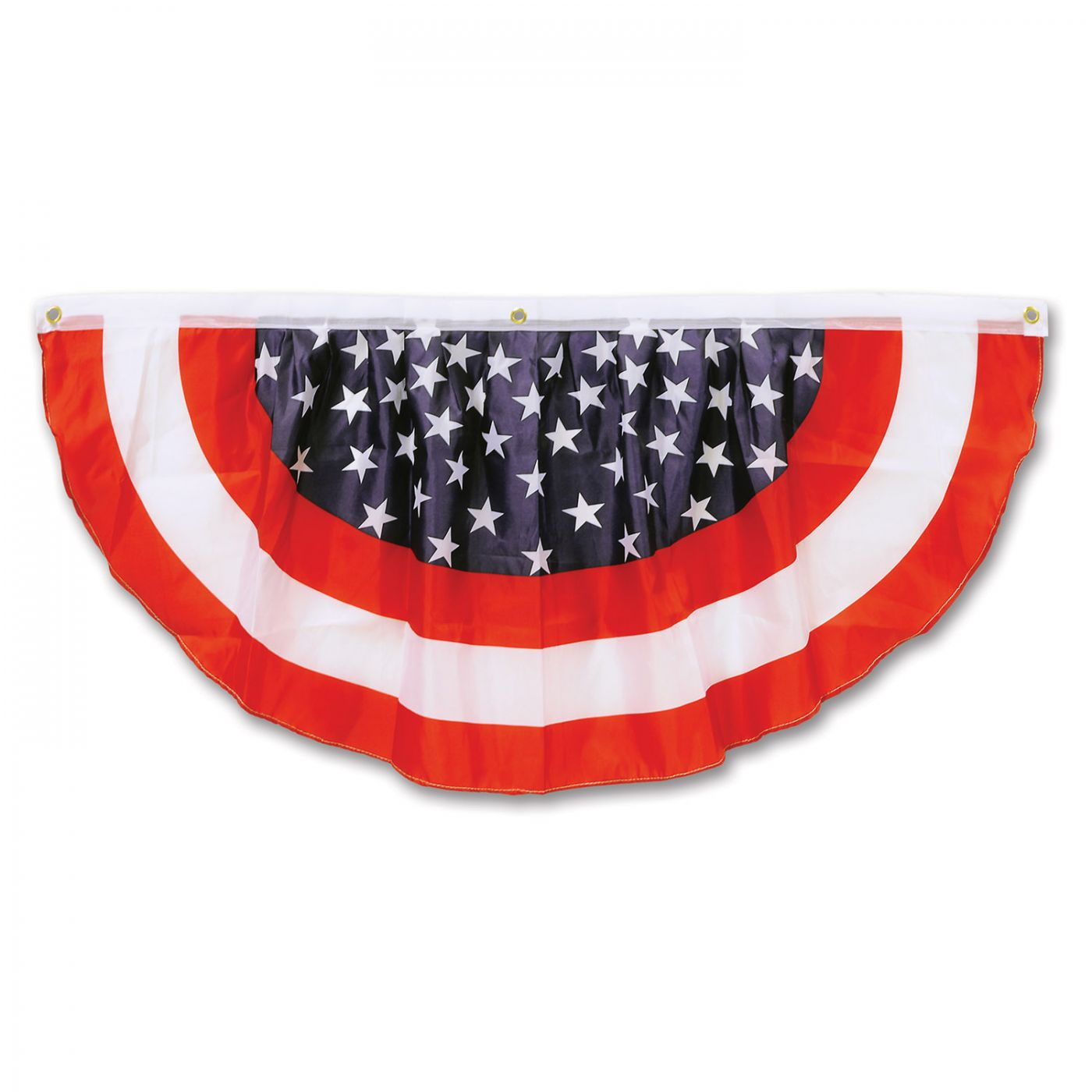 Stars & Stripes Fabric Bunting (6) image