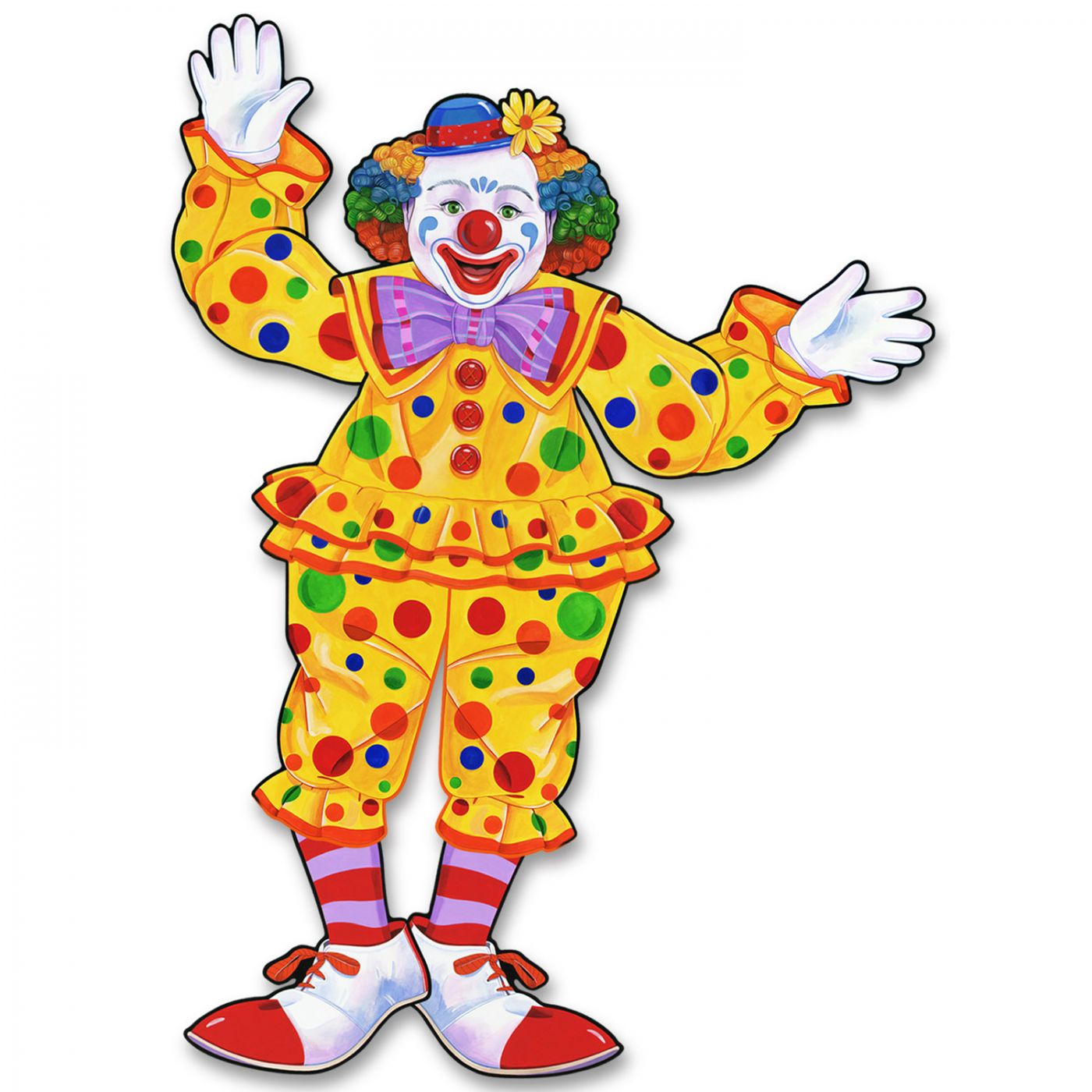 Jointed Circus Clown image