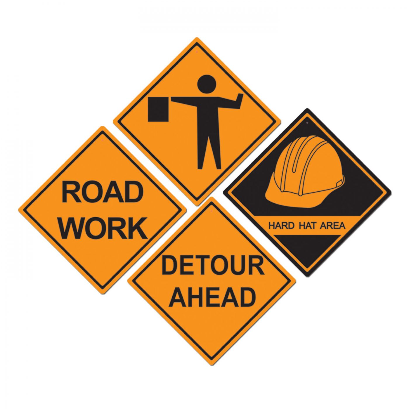 Construction Sign Cutouts image