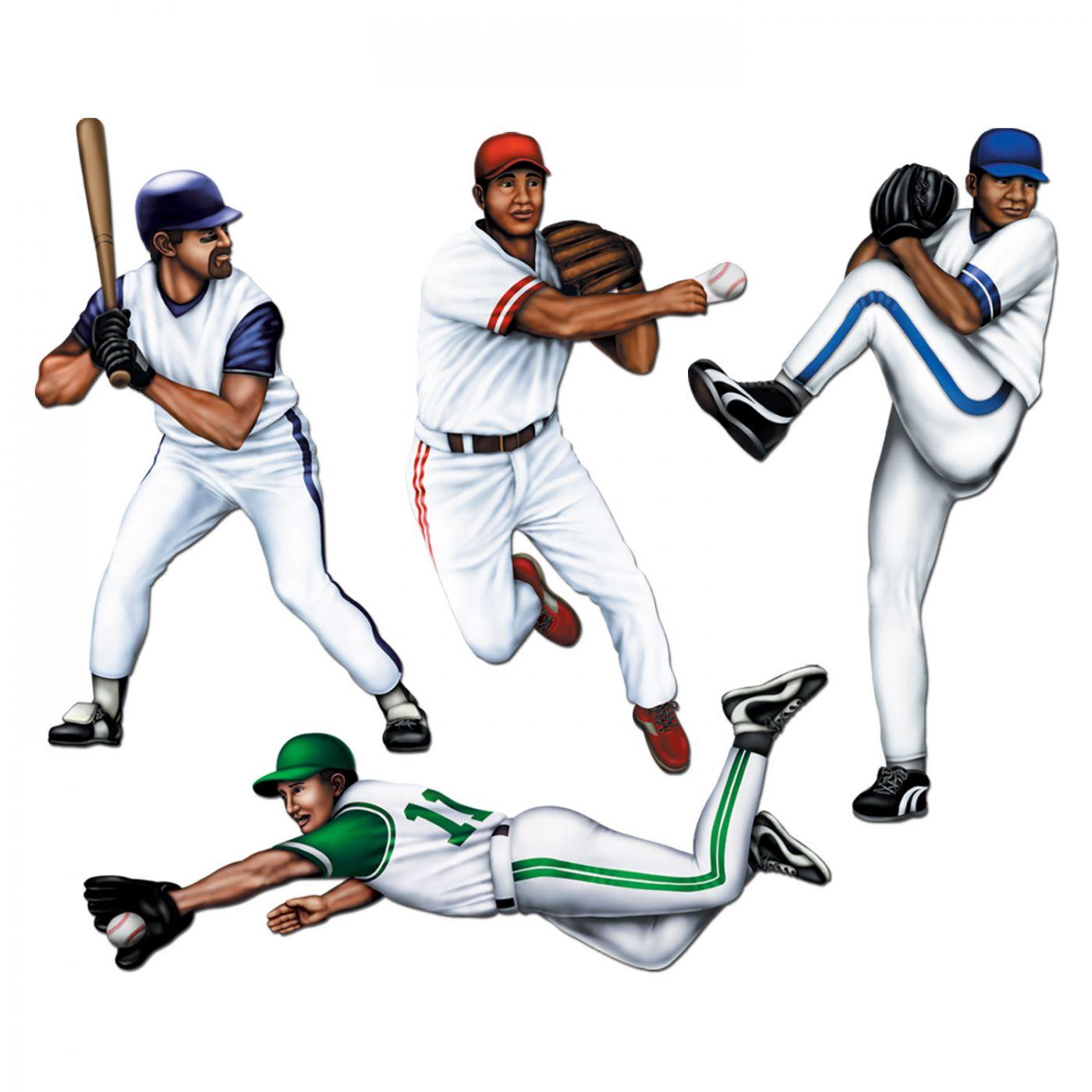 Baseball Cutouts image