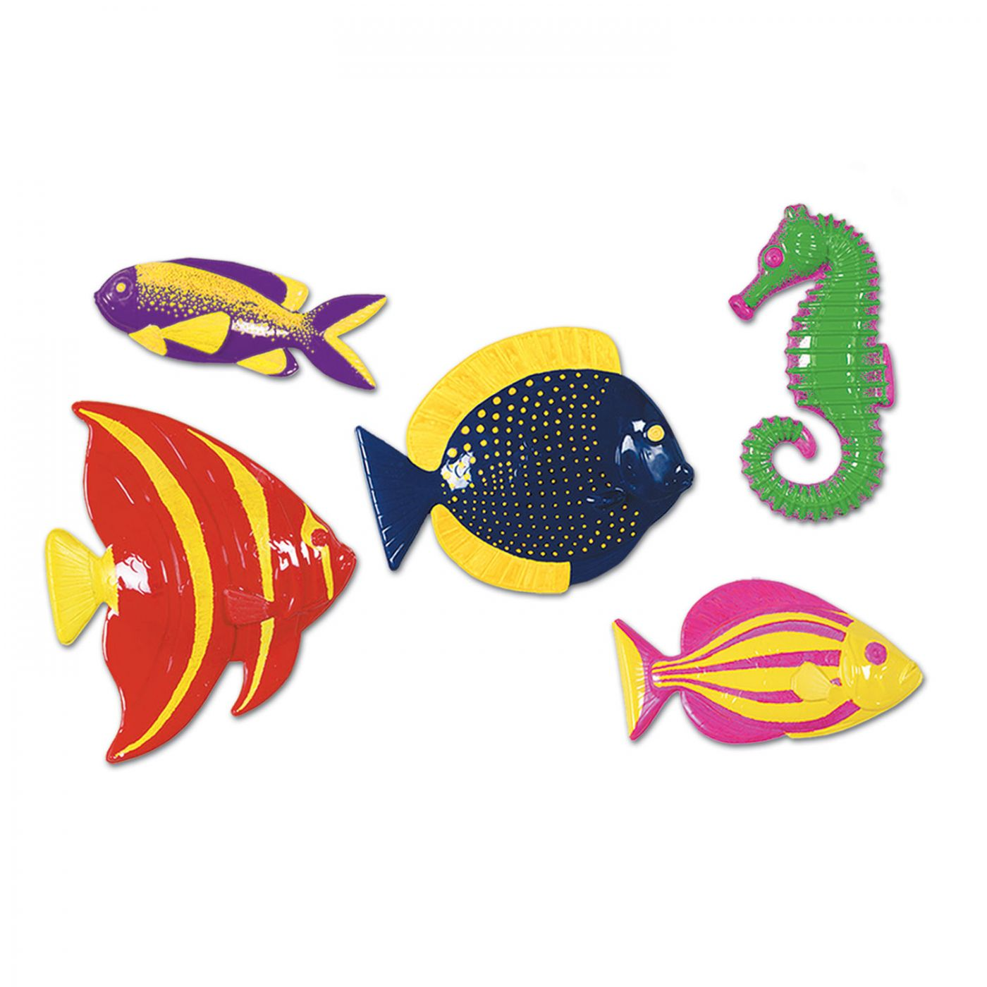 Plastic Tropical Fish image