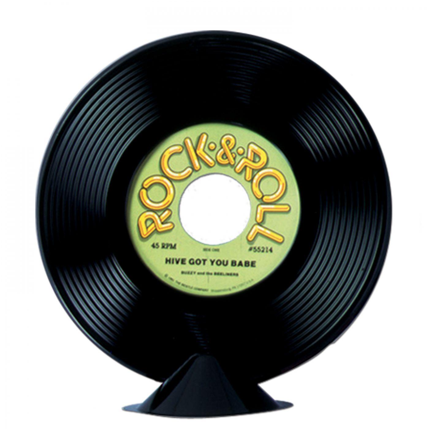 Plastic Record Centerpiece image