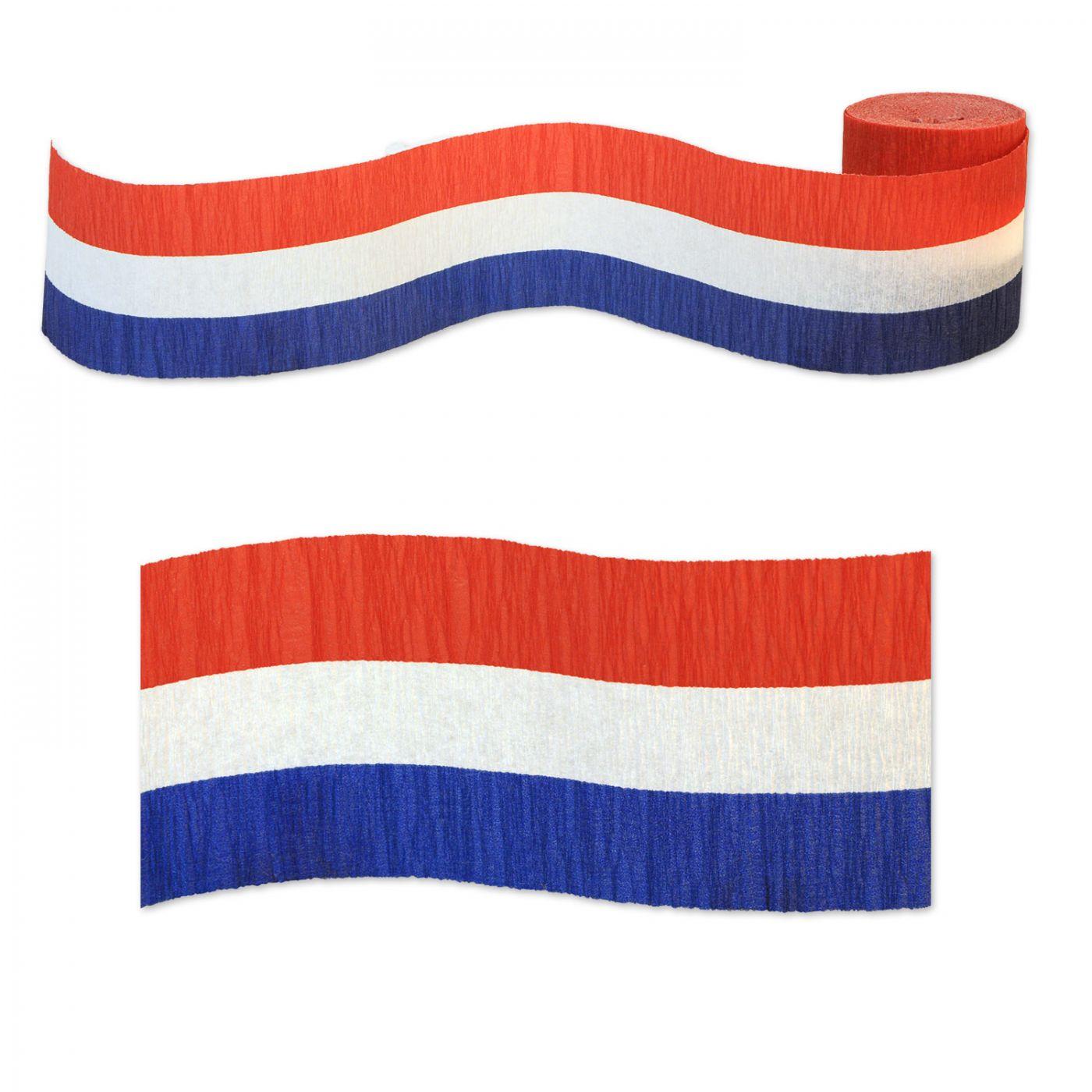 FR Patriotic Crepe Streamer image