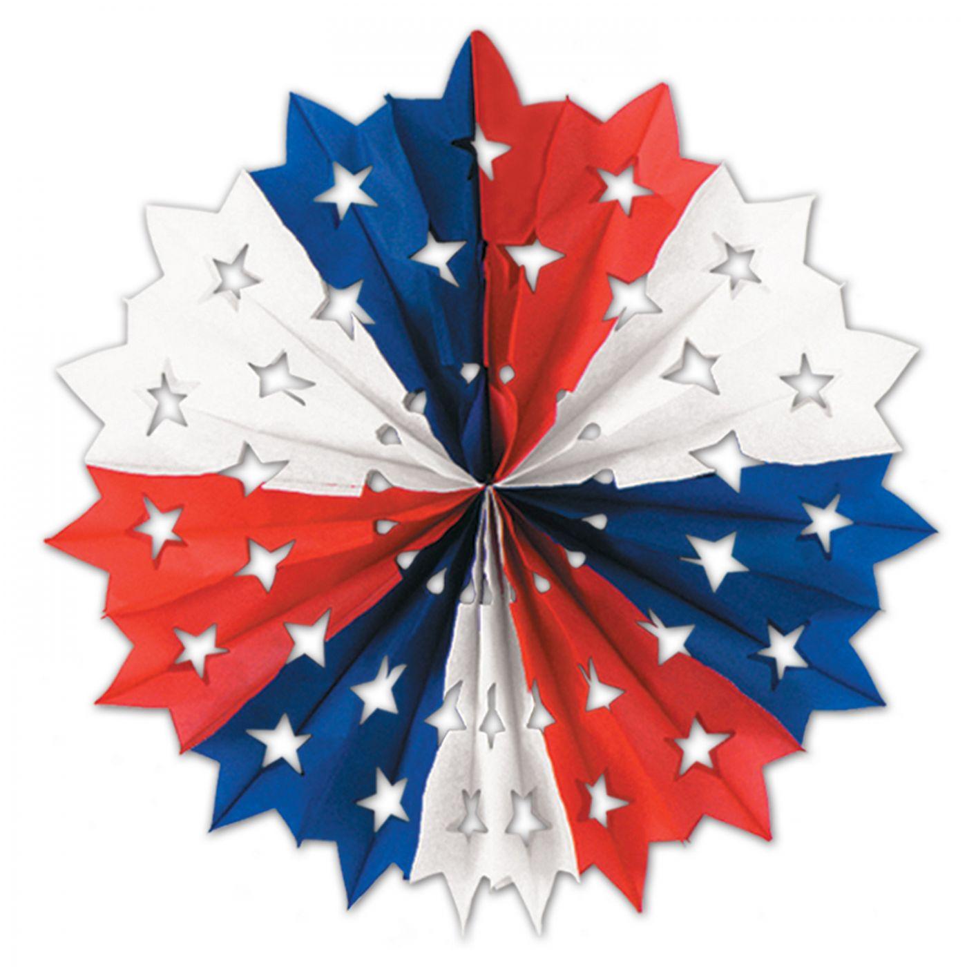 Patriotic Star Fan image