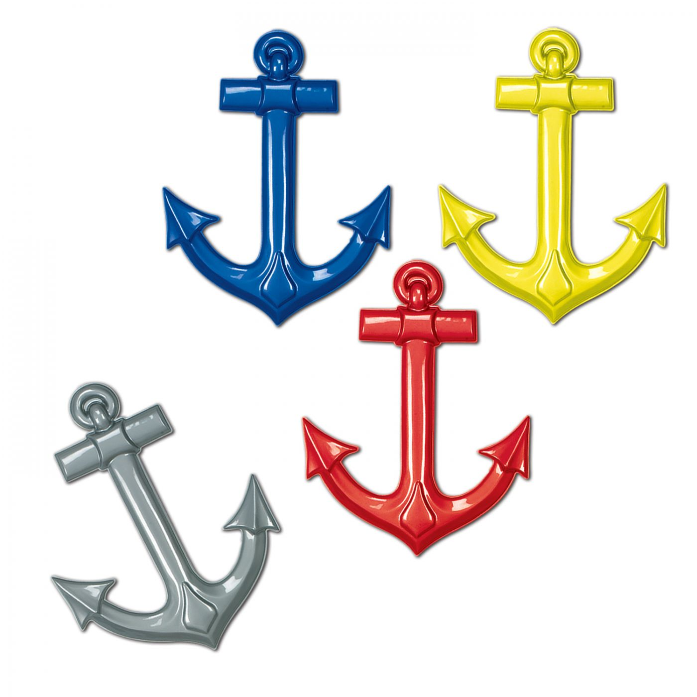 Plastic Ship's Anchors (24) image
