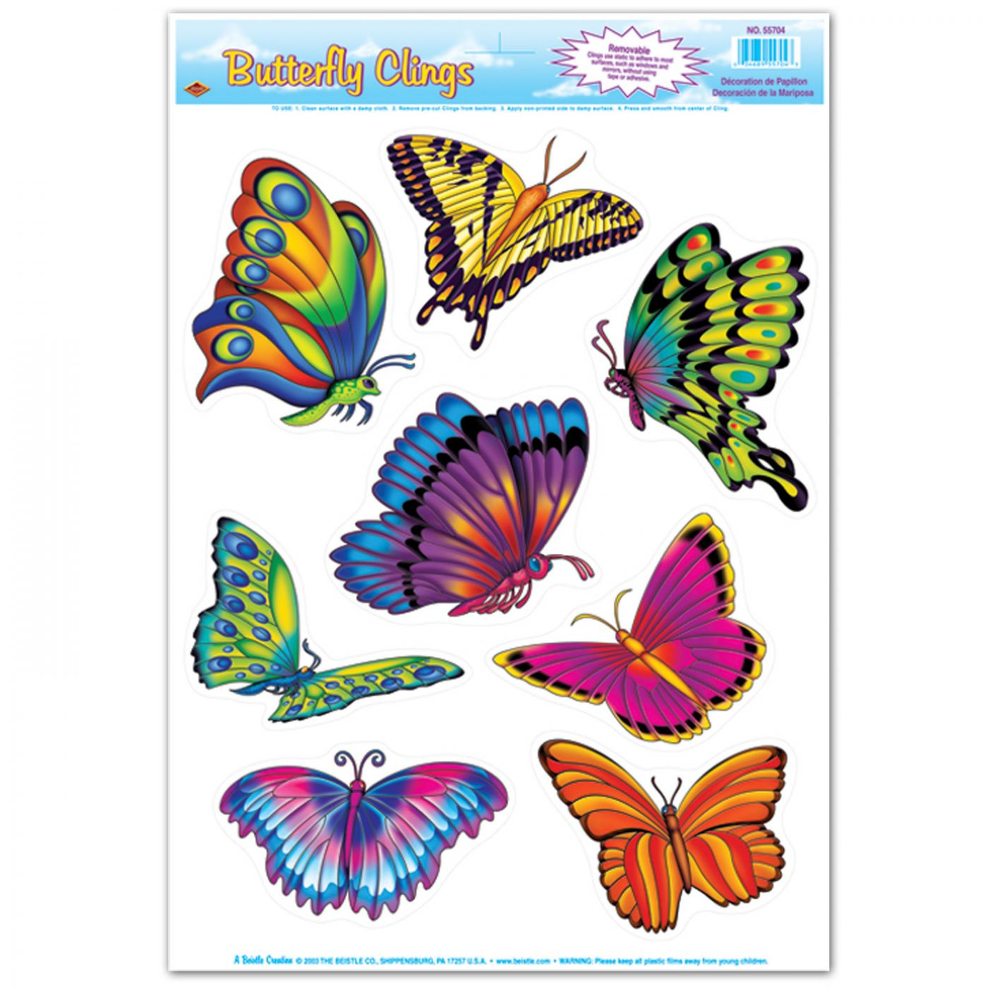 Image of Butterfly Clings