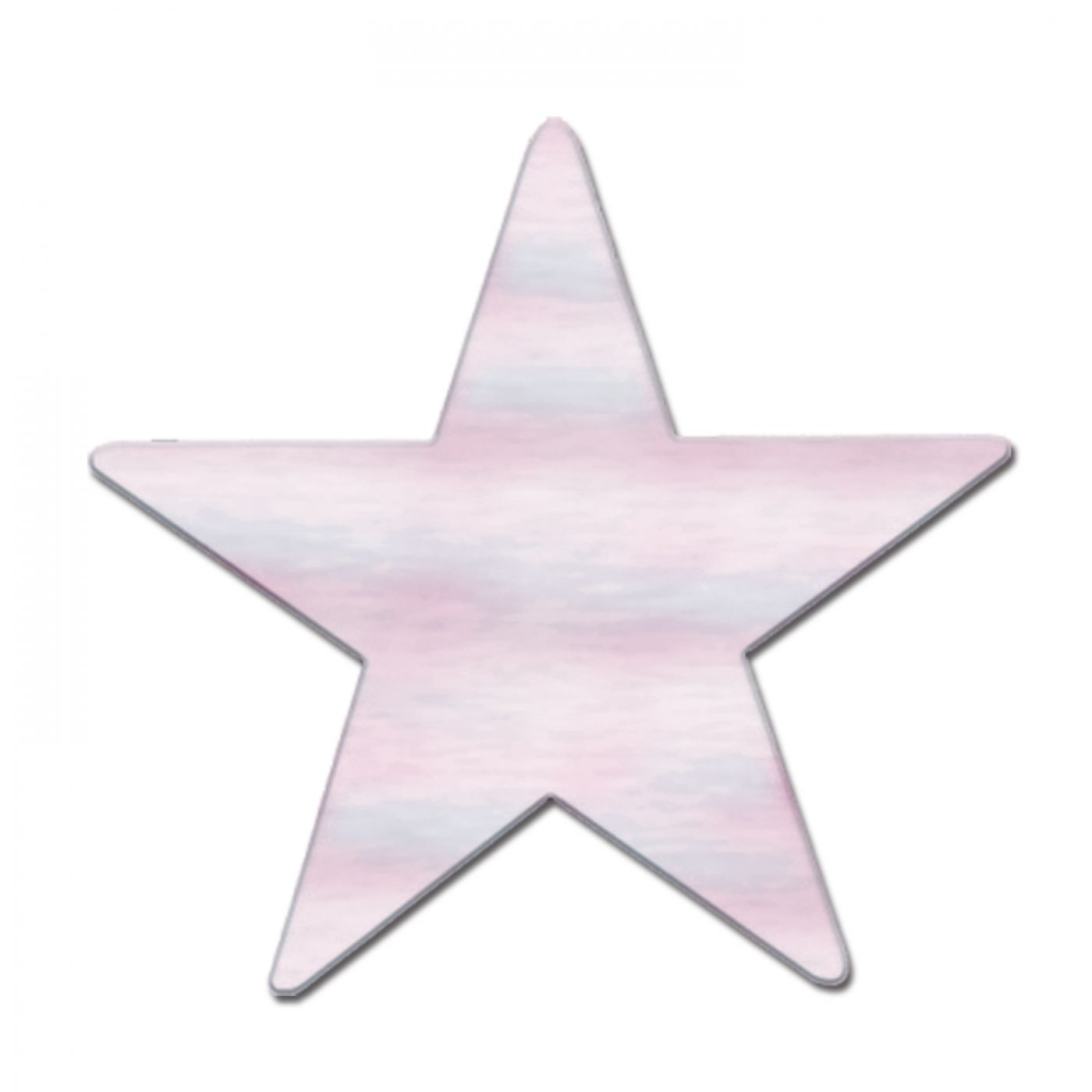 Opalescent Star Cutout (24) image