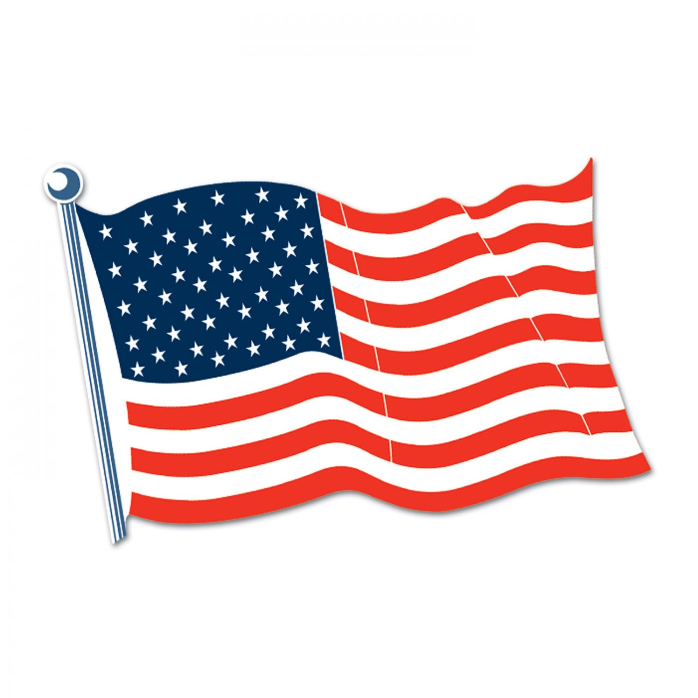 Image of American Flag Cutout (24)