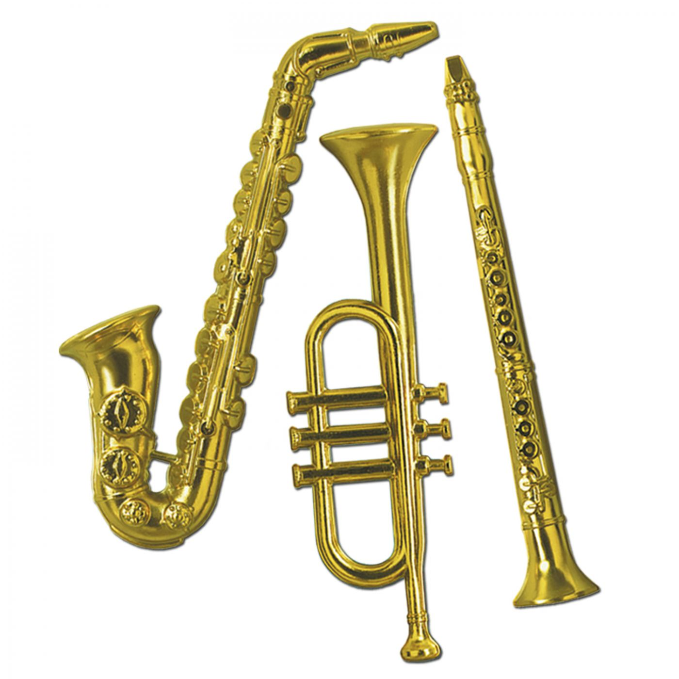 Gold Plastic Musical Instruments image