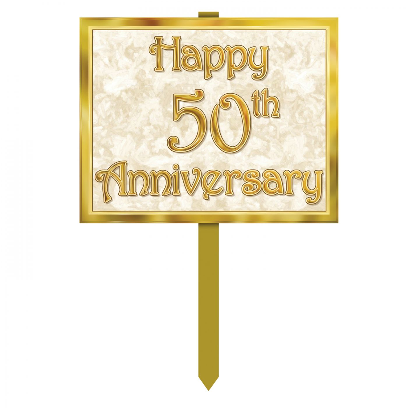Image of 50th Anniversary Yard Sign (6)