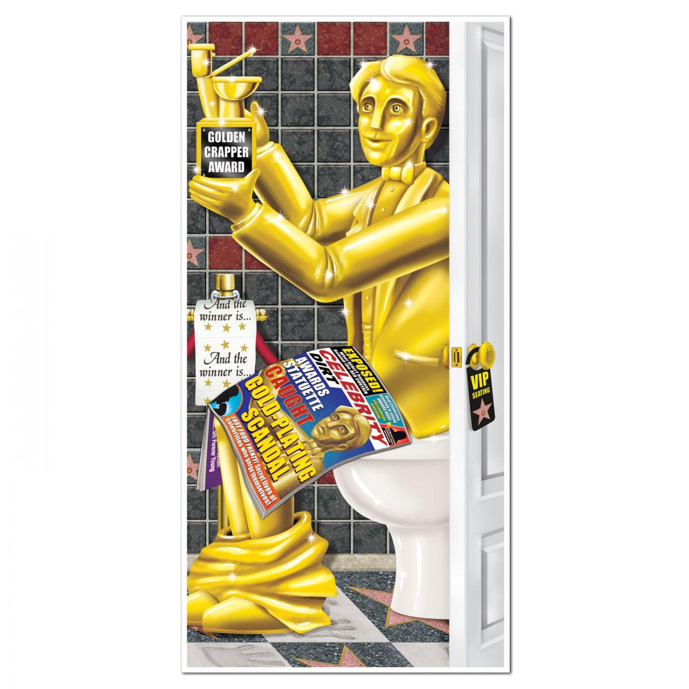 Image of Awards Night Restroom Door Cover